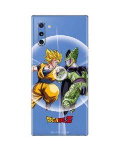 Dragon Ball Z Goku & Cell Galaxy Note 10 Skin