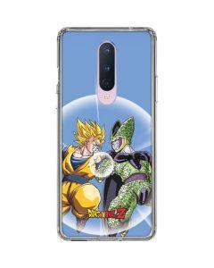 Dragon Ball Z Goku & Cell OnePlus 8 Clear Case