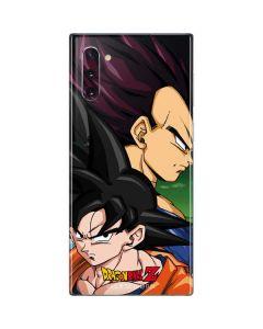 Dragon Ball Z Goku & Vegeta Galaxy Note 10 Skin