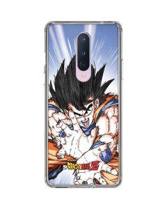 Dragon Ball Z Goku Blast OnePlus 8 Clear Case
