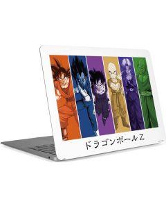 Dragon Ball Z Monochrome Apple MacBook Air Skin