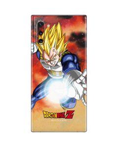 Dragon Ball Z Vegeta Galaxy Note 10 Skin