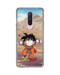 Dragon Ball Z Young Gohan OnePlus 8 Clear Case
