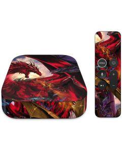 Dragon Battle Apple TV Skin