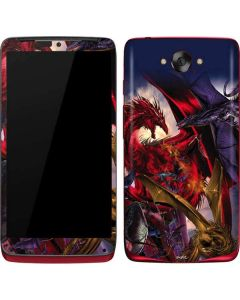 Dragon Battle Motorola Droid Skin