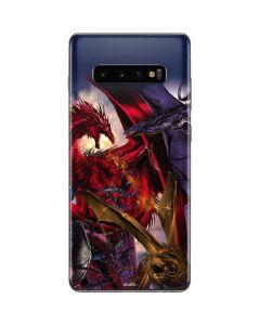 Dragon Battle Galaxy S10 Plus Skin