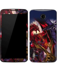 Dragon Battle Google Nexus 6 Skin