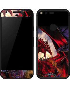 Dragon Battle Google Pixel Skin