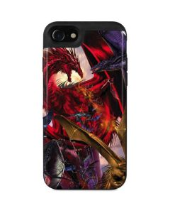 Dragon Battle iPhone SE Wallet Case