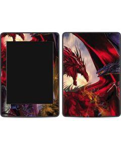 Dragon Battle Amazon Kindle Skin