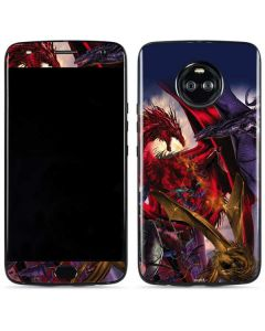 Dragon Battle Moto X4 Skin