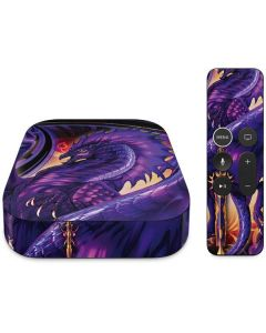 Dragonblade Netherblade Purple Apple TV Skin