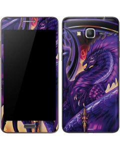 Dragonblade Netherblade Purple Galaxy Grand Prime Skin