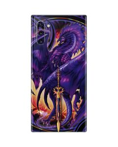 Dragonblade Netherblade Purple Galaxy Note 10 Skin