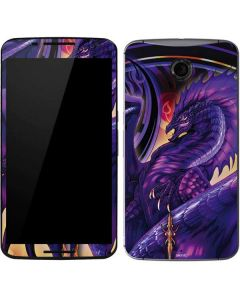 Dragonblade Netherblade Purple Google Nexus 6 Skin