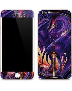 Dragonblade Netherblade Purple iPhone 6/6s Plus Skin