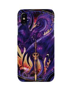Dragonblade Netherblade Purple iPhone XS Max Lite Case