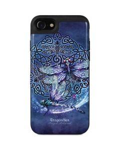 Dragonfly Celtic Knot iPhone SE Wallet Case