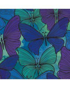 California Watercolor Butterflies Generic Laptop Skin