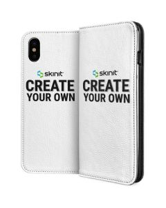 Custom iPhone XS Max Folio Case