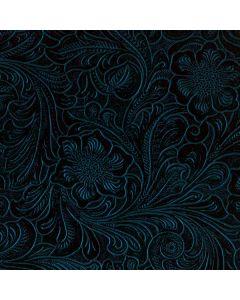 Botanical Flourish Blue Generic Laptop Skin