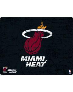 Miami Heat Black Partial Logo Google Home Hub Skin