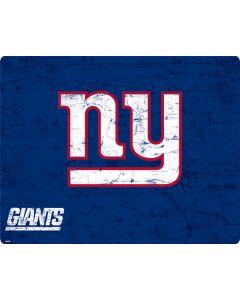 New York Giants Distressed Generic Laptop Skin