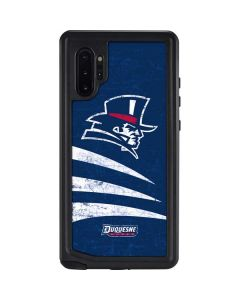Duquesne Dukes Distressed Galaxy Note 10 Plus Waterproof Case