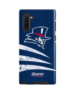 Duquesne Dukes Distressed Galaxy Note 10 Pro Case