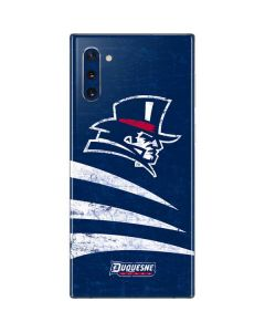 Duquesne Dukes Distressed Galaxy Note 10 Skin