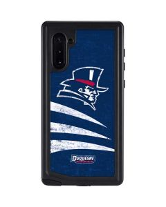Duquesne Dukes Distressed Galaxy Note 10 Waterproof Case