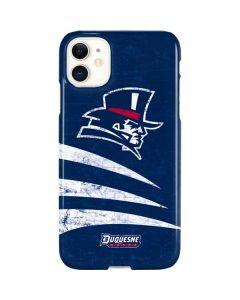 Duquesne Dukes Distressed iPhone 11 Lite Case