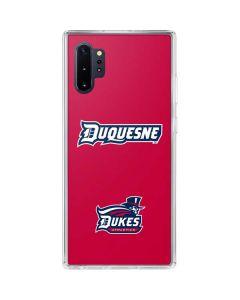Duquesne Dukes Galaxy Note 10 Plus Clear Case