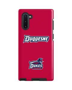 Duquesne Dukes Galaxy Note 10 Pro Case