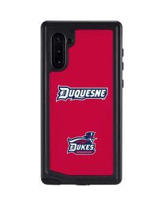 Duquesne Dukes Galaxy Note 10 Waterproof Case