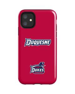 Duquesne Dukes iPhone 11 Impact Case