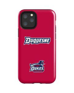 Duquesne Dukes iPhone 11 Pro Impact Case