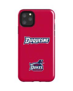 Duquesne Dukes iPhone 11 Pro Max Impact Case