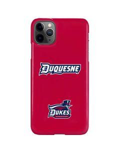 Duquesne Dukes iPhone 11 Pro Max Lite Case