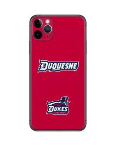 Duquesne Dukes iPhone 11 Pro Max Skin