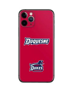 Duquesne Dukes iPhone 11 Pro Skin