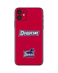 Duquesne Dukes iPhone 11 Skin