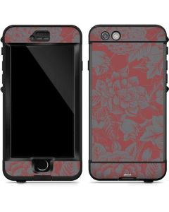 Dusty Cedar Floral LifeProof Nuud iPhone Skin