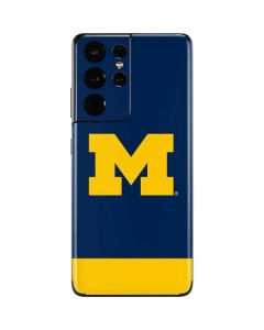 University of Michigan Logo Galaxy S21 Ultra 5G Skin