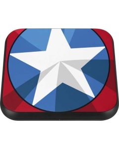 Captain America Emblem Wireless Charger Single Skin