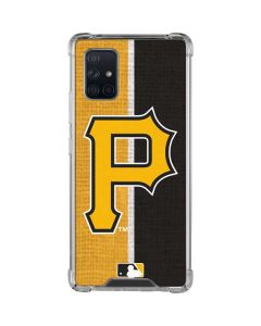 Pittsburgh Pirates Split Galaxy A71 5G Clear Case