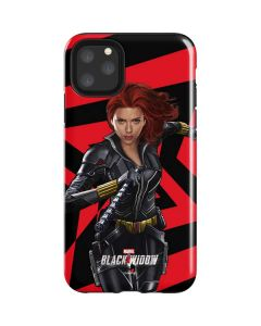 Black Widow Geometric iPhone 11 Pro Max Impact Case