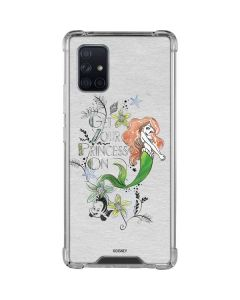 Ariel and Flounder Galaxy A71 5G Clear Case