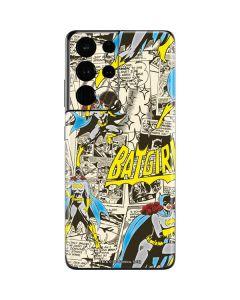 Batgirl All Over Print Galaxy S21 Ultra 5G Skin
