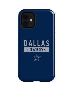 Dallas Cowboys Blue Performance Series iPhone 12 Mini Case
